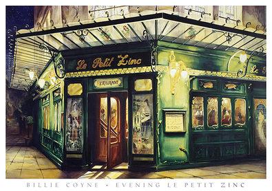 Billie Coyne Evening Le Petit Zinc