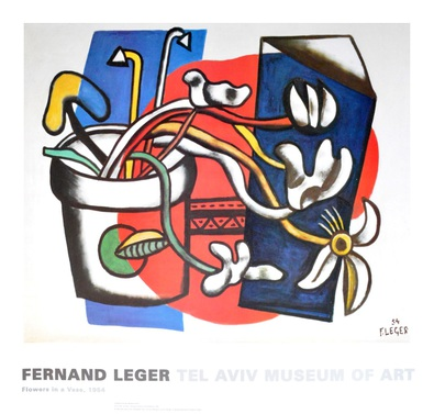 Fernand Leger Flowers in a Vase