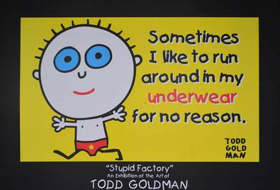 Todd Goldman Sometimes I like to run