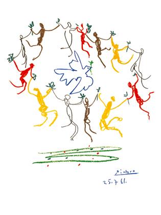 Pablo Picasso La Ronde de la Jeunesse - 1961