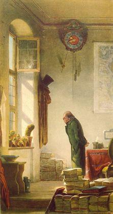 Carl Spitzweg Der Kaktusfreund (Grossformat)