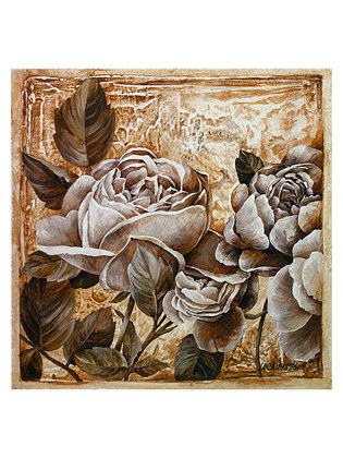 Linda Thompson 4er Set Antique Rose I - IV