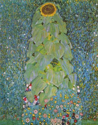 Gustav Klimt Sonnenblume