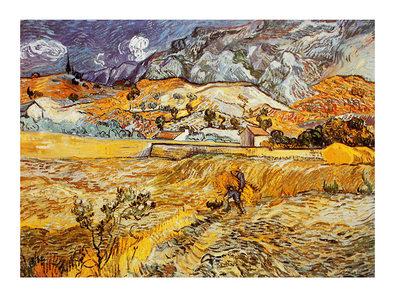 Vincent van Gogh Landscape in St. Remy, 1898