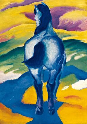Franz Marc Blaues Pferd II