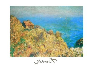 Claude Monet Fischerhuette bei Varengeville