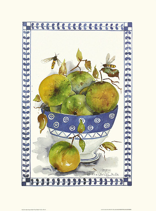 Alie Kruse-Kolk 4er Set Fruit Bowl I - IV