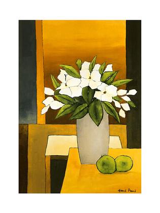 Hans Paus White Flowers III