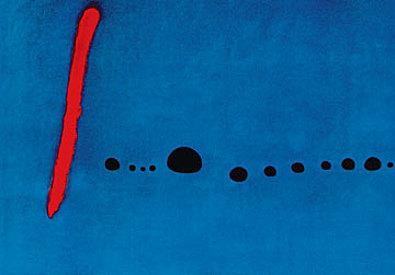 Joan Miro Bleu II