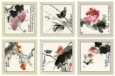 Songtao Gao Glueck und Freude 6 Blatt