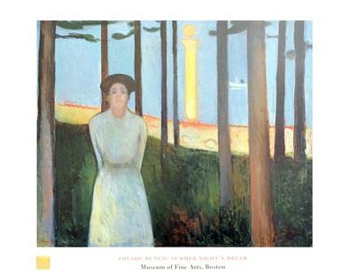 Edvard Munch Sommernachtstraum