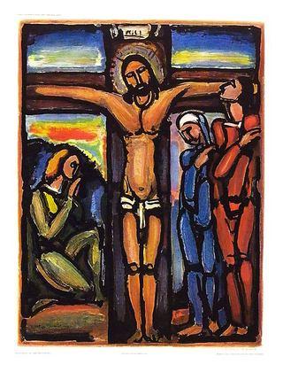 Georges Rouault Christus am Kreuz