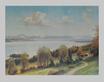 Josef Sussmayr Starnberger See mit Roseninsel