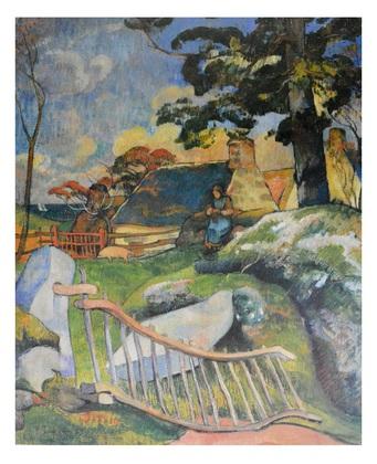 Paul Gauguin Das Gittertor