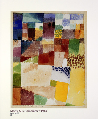 Paul Klee Motiv aus Hammamet, 1914