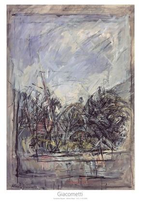 Alberto Giacometti Der Garten in Stampa