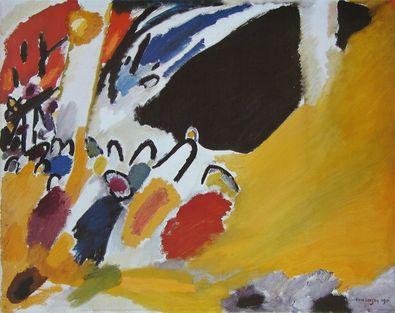 Wassily Kandinsky Impression III