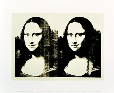 Andy Warhol Double Mona Lisa 1963