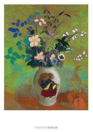 Odilon Redon Vase au guerrier japonais