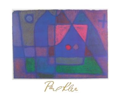 Paul Klee kleine Zimmer in Venedig