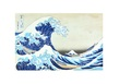Hokusai katsushika the great wave at kanagawa medium