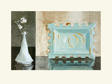 Ina van Toor 2er Set 'Paper Flowers' + 'Wine & Roses' (klein)