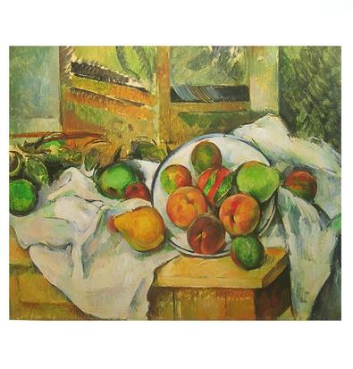 Paul Cezanne Stillleben mit Tischkante
