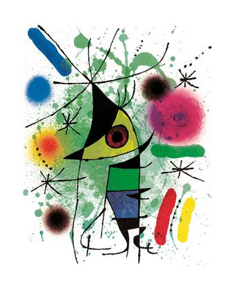 Joan Miro The Singing Fish