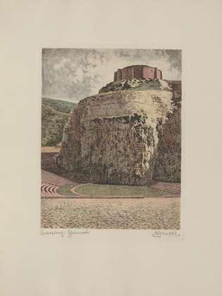 Bruck Annaberg, Ehrenmal (coloriert)