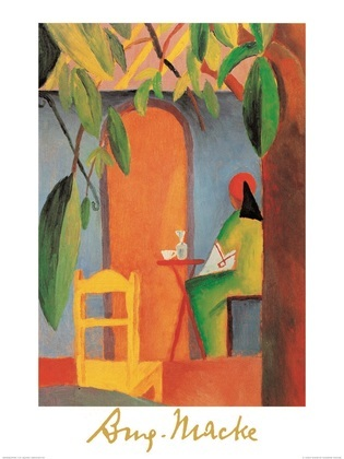 August Macke Tuerkisches Cafe II