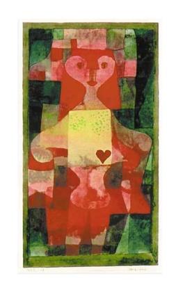 Paul Klee Herzdame