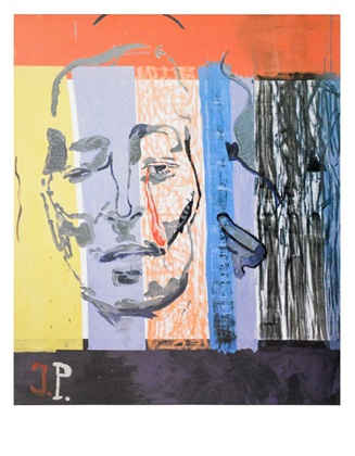Martin Kippenberger Ohne Titel (aus der Serie Jacqueline: The painting Pablo couldn'nt paint anymore), 1996