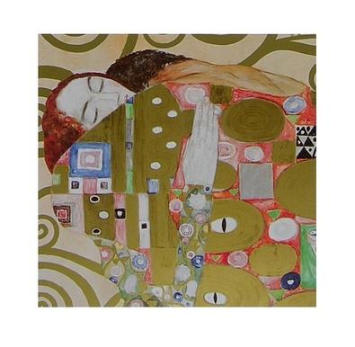 Gustav Klimt Study for Fulfilment (Detail)
