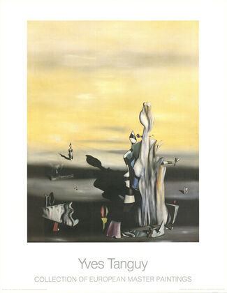 Yves Tanguy Dame a l Absence
