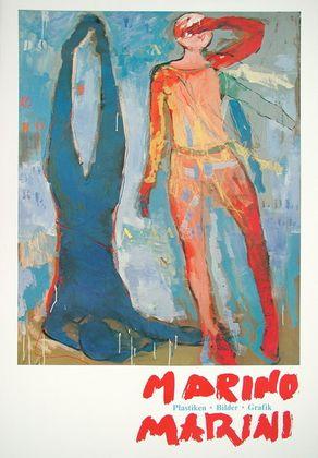 Marino Marini Zwei Figuren
