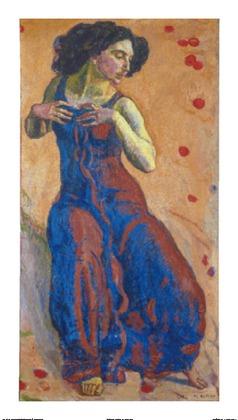 Ferdinand Hodler Entzuecktes Weib, 1911