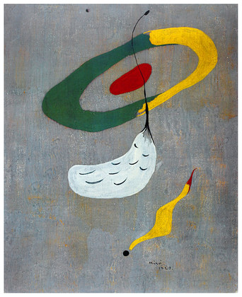 Joan Miro Floating Forms, 1927