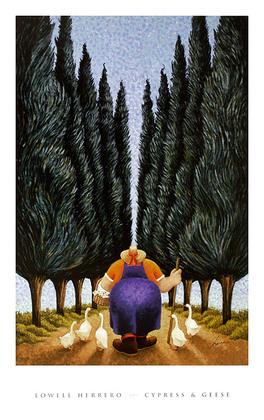 Lowell Herrero Cypress & Geese