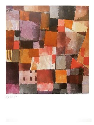 Paul Klee Ohne Titel 1914
