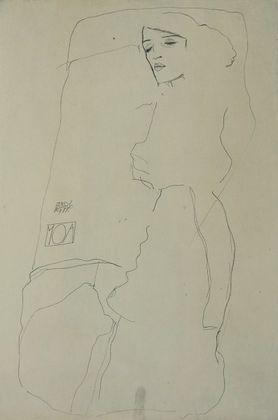 Egon Schiele Die Taenzerin Moa   1911
