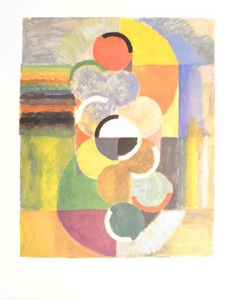 Robert Delaunay Rhythme sans Fin