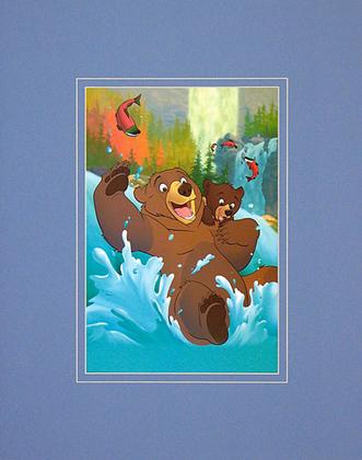 Walt Disney (Brother Bear) Koda and Kenai: Riding the Rapids