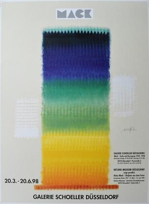 Heinz Mack Galerie Schoeller 1998