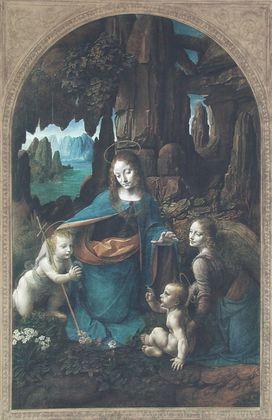Leonardo da Vinci Die Madonna in der Felsgrotte