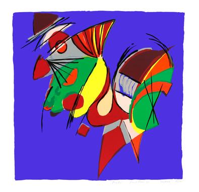 Frank Rosen Macho, 1992 (handsigniert)