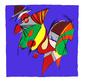 Rosen frank macho 1992 handsigniert medium