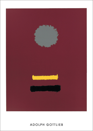 Adolph Gottlieb Untitled, 1969