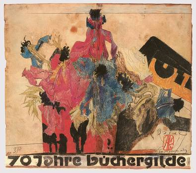 Horst Janssen 70 Jahre Buechergilde