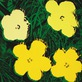 Andy Warhol Flowers 1965 4 yellow