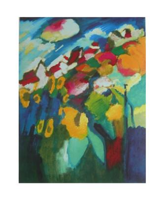 Wassily Kandinsky Murnau-Garten II